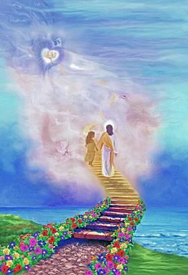 One Way To God Art Print by Susanna  Katherine