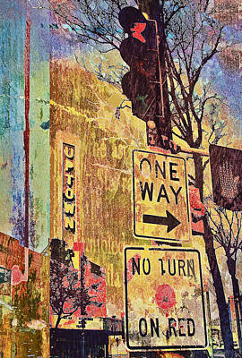 One Way To Uptown Art Print