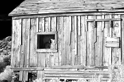 Old West Photograph - One Window by Cat Connor