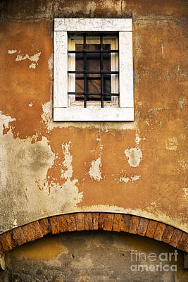 Photograph - One Window In Venice by John Rizzuto