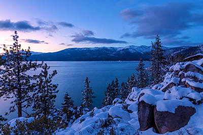 Photograph - One Winter Night by Jonathan Nguyen