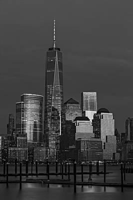 New York City Photograph - One World Trade Center At Twilight by Susan Candelario
