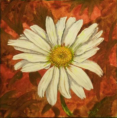 Painting - One Yorktown Daisy by Nicole Angell