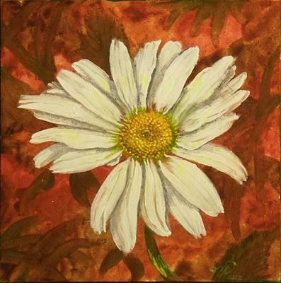 One Yorktown Daisy Art Print