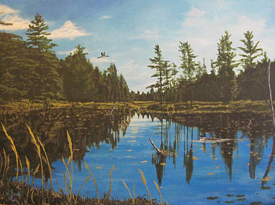 O'neal Lake Art Print