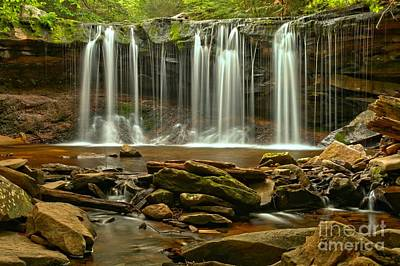 Photograph - Oneida Falls by Adam Jewell