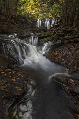 Photograph - Oneida Falls by Roman Kurywczak