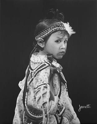 Painting - Oneida Girl by Jeanette Fellows