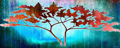 Tree Art Mixed Media - Oneness by Jaison Cianelli