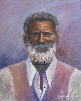 Painting - Onesimos Nasib by Samuel Daffa