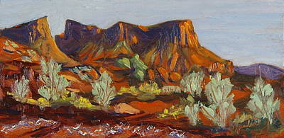 Painting - Onion Creek Wild Side Castle Valley Moab Utah by Zanobia Shalks