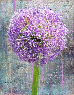 Photograph - Onion by Larry Bishop