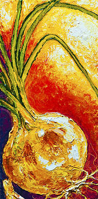 Onion Art Print by Paris Wyatt Llanso