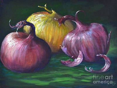 Painting - Onions by AnnaJo Vahle