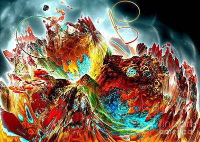 Oniric - 2 Art Print by Bernard MICHEL