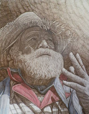 Only A Hobo Original by Robert Pace Kidd