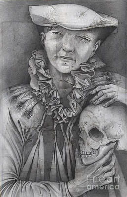 Drawing - Only My Body Will Die by Carole Lindberg