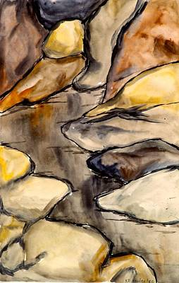 Painting - Only Rocks by Kendall Kessler