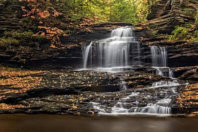 Photograph - Onondaga Falls  by Susan Candelario