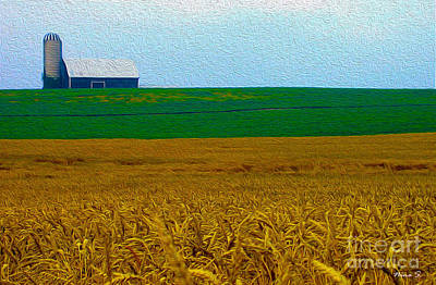Photograph - Ontario Farmland by Nina Silver