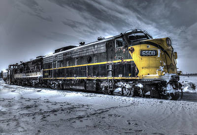 Ontario Southland Railways Art Print by Nick Mares