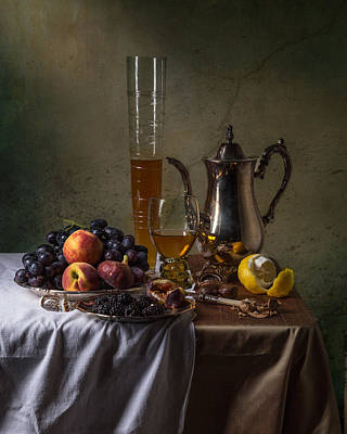 Photograph - Ontbijt With Pass Glass-roemer And Fruits by Levin Rodriguez