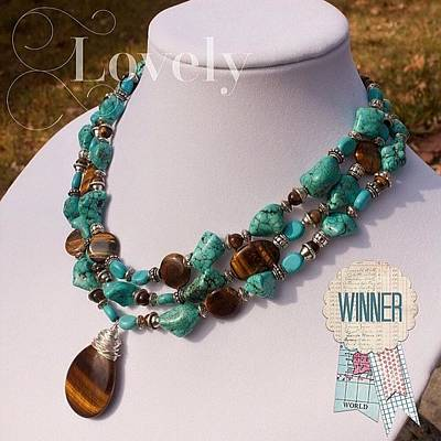Jewelry Photograph - #ontheblogtoday You Will Be A Winner In by Teresa Mucha