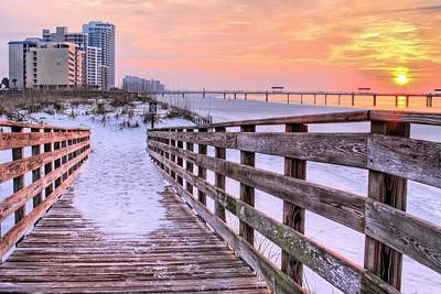 Photograph - Onto Orange Beach by JC Findley