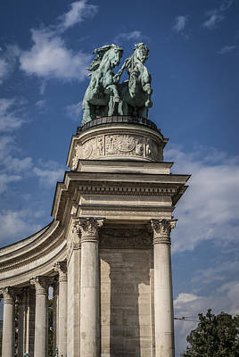 Budapest Sightseeing Tours Photograph - Onward by Sabina Cosic