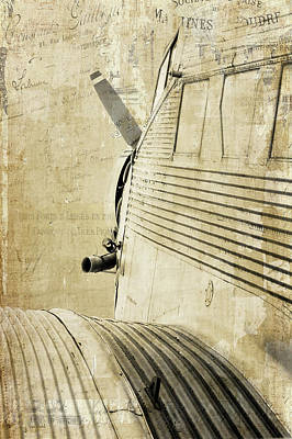 Plane Painting - Onward, Upward by Ramona Murdock