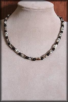Estate Jewelry Jewelry - Onyx Tribal by Jan Brieger-Scranton