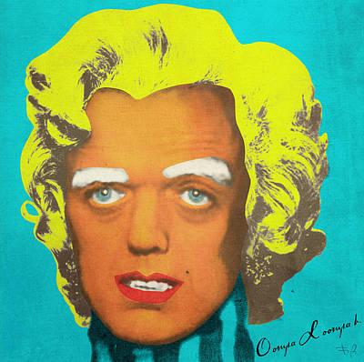Wonka Digital Art - Oompa Loompa Blonde by Filippo B