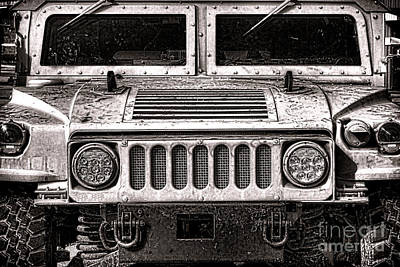 Photograph - Oomphy Humvee by Olivier Le Queinec