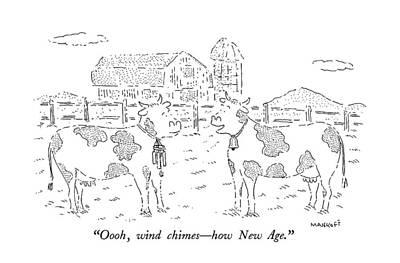 Oooh, Wind Chimes - How New Age Art Print