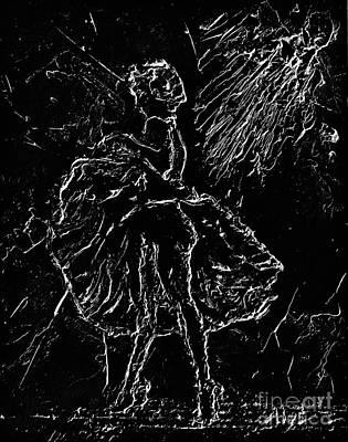 Marilyn Painting - Oooooooh In The Negative by Alys Caviness-Gober