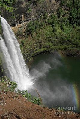 Photograph - Opaeka'a Falls by Deborah Smolinske