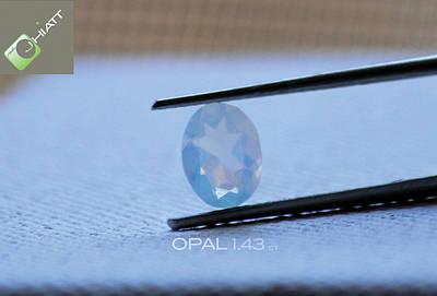 Digital Art - Opal  by Justin Hiatt