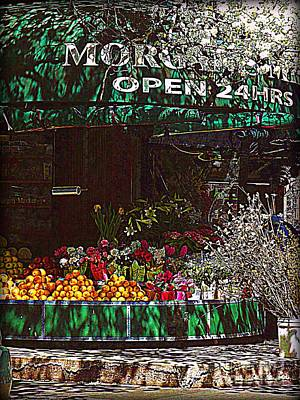 Open 24 Hours Art Print by Miriam Danar
