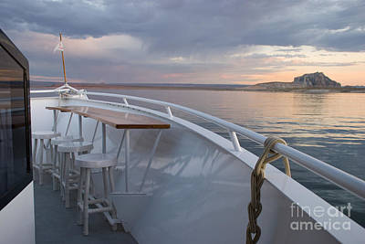 Photograph - Open Air Bar On Yacht by Kate Sumners