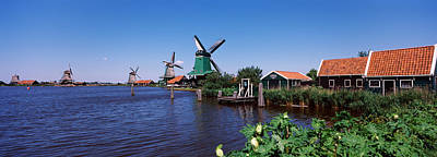Zaanse Schans Photograph - Open Air Museum At The Waterfront by Panoramic Images