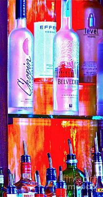 Smirnoff Photograph - Open Bar by Heidi Peschel