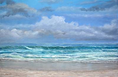 Painting - Open Beach by William Stewart
