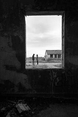 Photograph - Open Book - Fort Tilden by Gary Heller