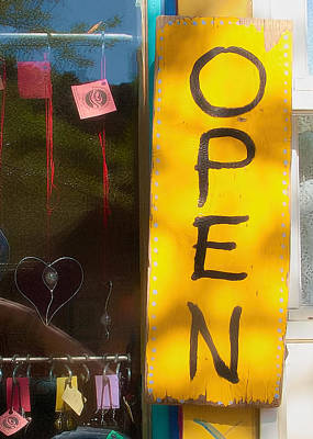 Photograph - Open - Come On In by Michael Flood