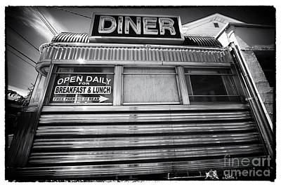 Photograph - Open Daily Breakfast And Lunch by John Rizzuto