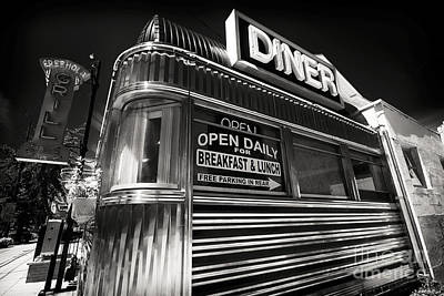 Freehold Photograph - Diner Angles by John Rizzuto