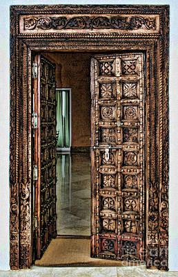 Photograph - Open Door By Diana Sainz by Diana Raquel Sainz