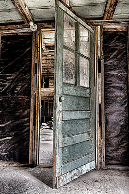 Photograph - Open Door by Caitlyn  Grasso