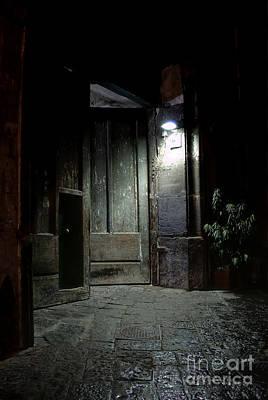 Photograph - Open Door by Marion Galt