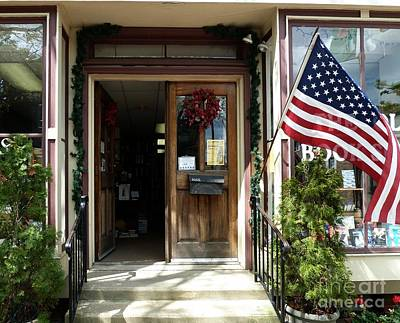 Art Print featuring the photograph Open Door Of Bordentown by Sally Simon
